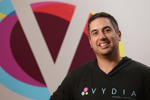 Roy LaManna, CEO and founder, Vydia. (Aaron Houston NJBIZ)